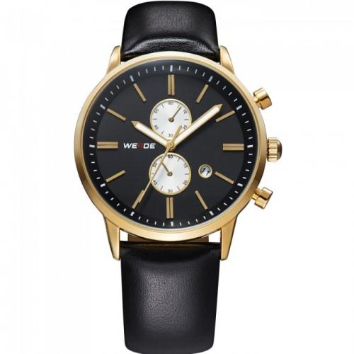аналогов-мъжки-часовник-златен